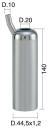 Mungitura – Impianto di mungitura – Mungitrice - 4208043 -CANN. 44,5X1,2X140 D.20 LEGGERO - PER IPL02 - Gruppi di mungitura - Cannelli