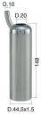 Mungitura – Impianto di mungitura – Mungitrice - 4208086 -CANN. 44,5X1,5X148 D.20 - Gruppi di mungitura - Cannelli