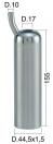 Mungitura – Impianto di mungitura – Mungitrice - 4208125 -CANN. 44,5X1,5X155 D.17 LEGGERO - PER IPL01 - Gruppi di mungitura - Cannelli