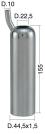 Mungitura – Impianto di mungitura – Mungitrice - 4208175 -CANN. 44,5X1,5X140 D.22,5 AD. - Gruppi di mungitura - Cannelli