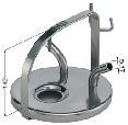 Mungitura – Impianto di mungitura – Mungitrice - 4008011 -COP. INOX 2XD.17 AD. CAPRE E PECORE - Trasporto Latte e Carrellate - Coperchi