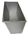 Mungitura – Impianto di mungitura – Mungitrice - 9001232 -VASCA RETTANGOLARE ACC.INOX 100L - Lavaggio - Vasche di Lavaggio
