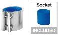 Mungitura – Impianto di mungitura – Mungitrice - 9010089 -RACCORDO Blue D40 - Linea latte - Unità terminali HD